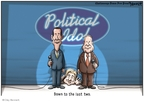 Cartoonist Clay Bennett  Clay Bennett's Editorial Cartoons 2008-05-21 John McCain