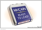 Cartoonist Clay Bennett  Clay Bennett's Editorial Cartoons 2008-08-05 John McCain