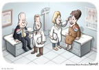 Cartoonist Clay Bennett  Clay Bennett's Editorial Cartoons 2008-10-05 McCain Palin