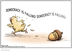 Cartoonist Clay Bennett  Clay Bennett's Editorial Cartoons 2008-10-18 2008 election