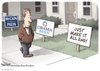 Cartoonist Clay Bennett  Clay Bennett's Editorial Cartoons 2008-10-26 2008 election