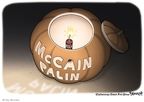 Cartoonist Clay Bennett  Clay Bennett's Editorial Cartoons 2008-10-28 2008 election