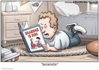 Cartoonist Clay Bennett  Clay Bennett's Editorial Cartoons 2008-10-30 2008 election