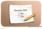 Cartoonist Clay Bennett  Clay Bennett's Editorial Cartoons 2008-11-04 2008 election