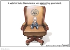 Cartoonist Clay Bennett  Clay Bennett's Editorial Cartoons 2008-11-02 2008 election