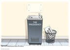 Cartoonist Clay Bennett  Clay Bennett's Editorial Cartoons 2008-11-05 2008 election