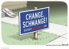 Cartoonist Clay Bennett  Clay Bennett's Editorial Cartoons 2008-11-16 2008 election