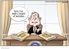 Cartoonist Clay Bennett  Clay Bennett's Editorial Cartoons 2009-01-18 made