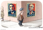 Cartoonist Clay Bennett  Clay Bennett's Editorial Cartoons 2009-02-08 division
