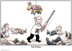Cartoonist Clay Bennett  Clay Bennett's Editorial Cartoons 2009-06-04 Supreme Court