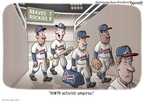 Cartoonist Clay Bennett  Clay Bennett's Editorial Cartoons 2009-07-14 baseball