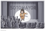 Cartoonist Clay Bennett  Clay Bennett's Editorial Cartoons 2009-07-18 Supreme Court