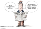 Cartoonist Clay Bennett  Clay Bennett's Editorial Cartoons 2009-07-29 equal rights