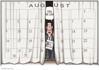 Cartoonist Clay Bennett  Clay Bennett's Editorial Cartoons 2009-08-04 2008 election