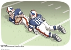 Cartoonist Clay Bennett  Clay Bennett's Editorial Cartoons 2009-08-23 dog