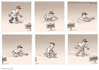 Cartoonist Clay Bennett  Clay Bennett's Editorial Cartoons 2009-11-29 Afghanistan
