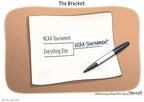 Cartoonist Clay Bennett  Clay Bennett's Editorial Cartoons 2010-03-18 March madness