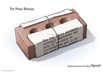 Cartoonist Clay Bennett  Clay Bennett's Editorial Cartoons 2010-03-27 brick