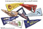 Cartoonist Clay Bennett  Clay Bennett's Editorial Cartoons 2011-04-02 baseball