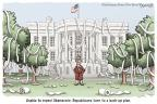 Cartoonist Clay Bennett  Clay Bennett's Editorial Cartoons 2013-10-10 government shutdown