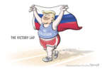 Cartoonist Clay Bennett  Clay Bennett's Editorial Cartoons 2019-03-29 Russia