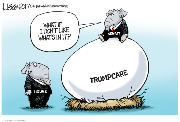 What if I dont like whats in it? House. Trumpcare. Senate.