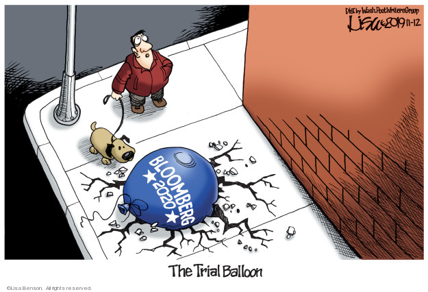 Bloomberg 2020. The Trial Balloon.