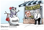 Cartoonist Lisa Benson  Lisa Benson's Editorial Cartoons 2008-12-19 shop