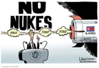 Cartoonist Lisa Benson  Lisa Benson's Editorial Cartoons 2009-04-07 North Korea Nuclear