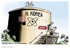 Cartoonist Lisa Benson  Lisa Benson's Editorial Cartoons 2009-07-08 North Korea Nuclear
