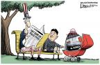 Cartoonist Lisa Benson  Lisa Benson's Editorial Cartoons 2013-03-06 North Korea Nuclear