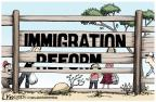 Cartoonist Lisa Benson  Lisa Benson's Editorial Cartoons 2013-06-20 border fence