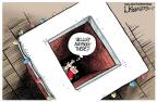 Cartoonist Lisa Benson  Lisa Benson's Editorial Cartoons 2013-12-27 Christmas stocking