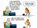 Cartoonist Chip Bok  Chip Bok's Editorial Cartoons 2005-03-02 testify