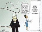 Cartoonist Chip Bok  Chip Bok's Editorial Cartoons 2005-03-14 diplomat