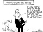 Cartoonist Chip Bok  Chip Bok's Editorial Cartoons 2005-04-11 wide