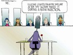 Cartoonist Chip Bok  Chip Bok's Editorial Cartoons 2005-04-18 testify