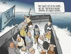 Cartoonist Chip Bok  Chip Bok's Editorial Cartoons 2004-06-06 D-Day