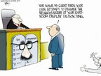 Cartoonist Chip Bok  Chip Bok's Editorial Cartoons 2005-07-01 Supreme Court