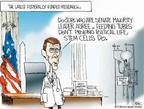 Cartoonist Chip Bok  Chip Bok's Editorial Cartoons 2005-08-04 science integrity