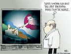 Cartoonist Chip Bok  Chip Bok's Editorial Cartoons 2005-08-23 religion