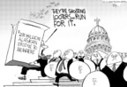 Cartoonist Chip Bok  Chip Bok's Editorial Cartoons 2005-09-05 Congress