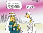 Cartoonist Chip Bok  Chip Bok's Editorial Cartoons 2004-10-14 Saudi Arabia