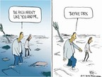 Cartoonist Chip Bok  Chip Bok's Editorial Cartoons 2005-09-09 flood