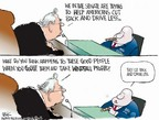 Cartoonist Chip Bok  Chip Bok's Editorial Cartoons 2005-11-14 testify