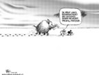 Cartoonist Chip Bok  Chip Bok's Editorial Cartoons 2005-12-19 climate