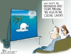 Cartoonist Chip Bok  Chip Bok's Editorial Cartoons 2006-04-04 climate
