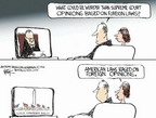 Cartoonist Chip Bok  Chip Bok's Editorial Cartoons 2006-04-12 immigration reform