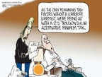 Cartoonist Chip Bok  Chip Bok's Editorial Cartoons 2006-04-18 taxpayer