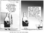 Cartoonist Chip Bok  Chip Bok's Editorial Cartoons 2006-06-12 religion